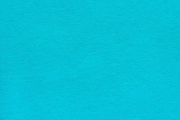 濃い青ターコイズ色の紙の質感