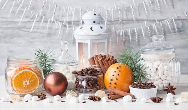 Рождественские специи и сладости