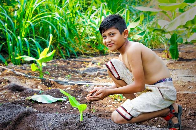 かわいいインドの子供