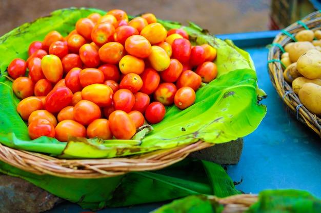インドの野菜市場