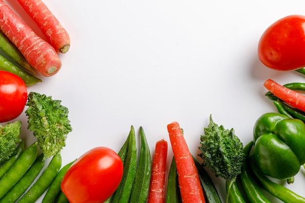 コピースペースで生野菜
