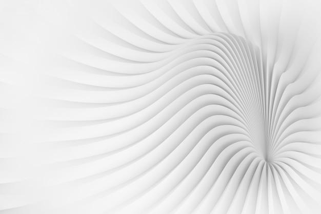 波状の体構造をイメージしたパターン