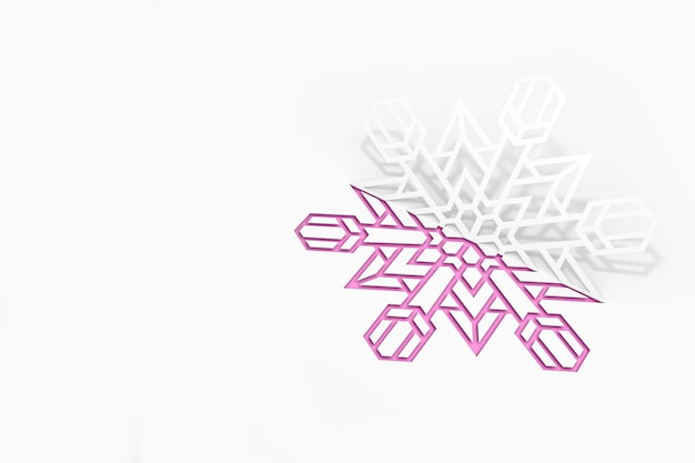 紙スノーフレーク彫刻とスノーフレークはシルエットをカットしました。新年コンサートアート