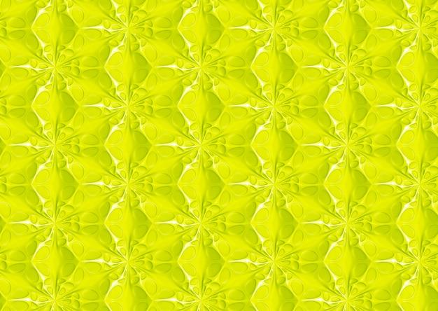 チーズ穴の形をした六角形グリッドに基づくシームレスパターン
