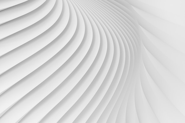 白いストライプの放射状のサラウンドのテクスチャ。