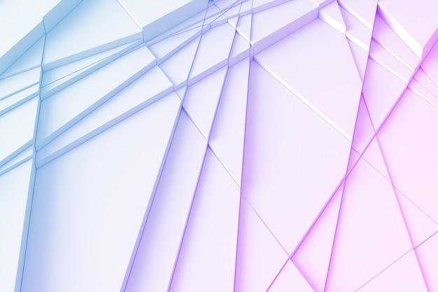 ラインと幾何学的な背景