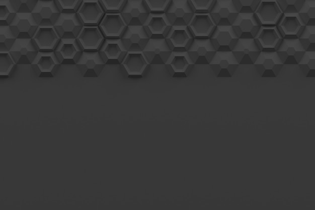 Параметрическая цифровая текстура на основе шестиугольной сетки с различным объемом и внутренней структурой
