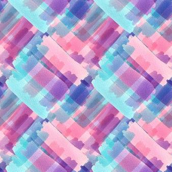 水彩のシームレスパターンテクスチャ。モダンなテキスタイルデザイン
