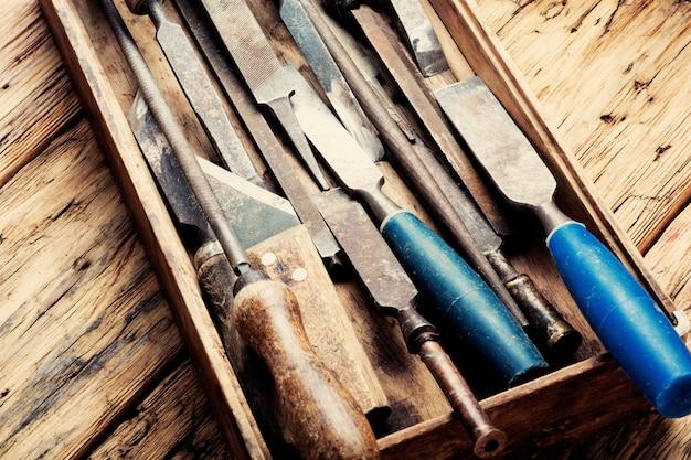 Ретро плотницкий инструмент