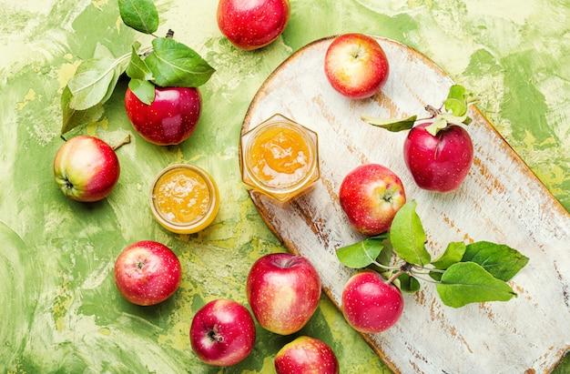 Варенье из спелых яблок