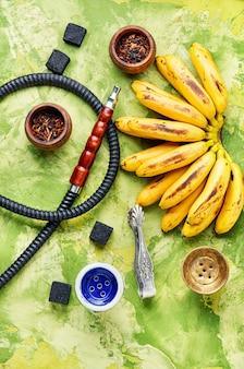 バナナ風味のエジプト水ギセル