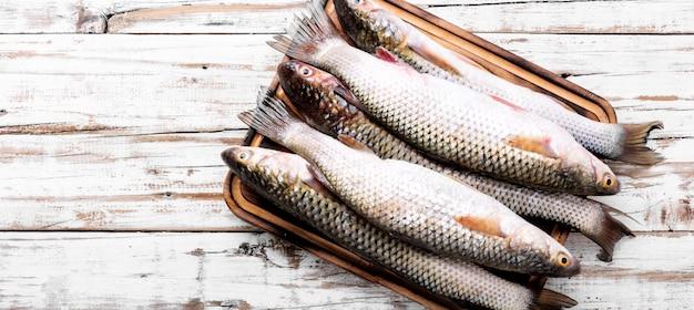 Сырая рыба со специями