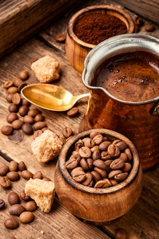 コーヒー豆と根拠