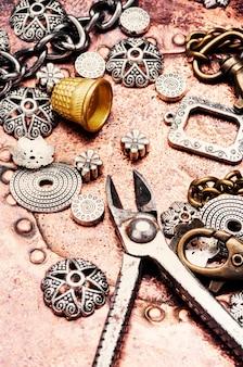 ジュエリーと宝石類