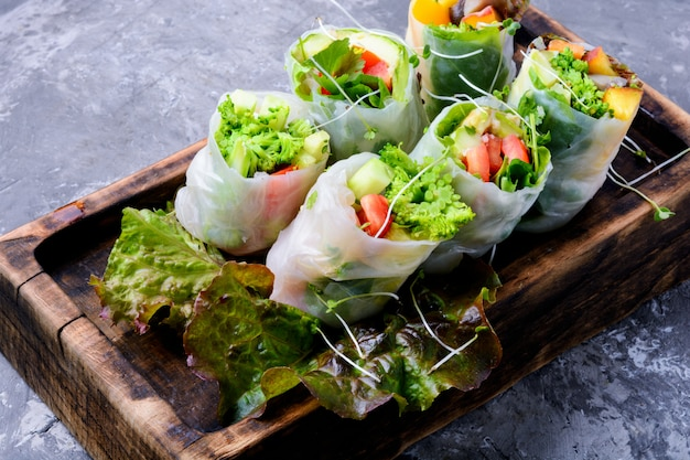 野菜春巻き