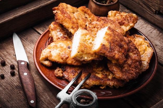 鶏胸肉のグリルステーキ
