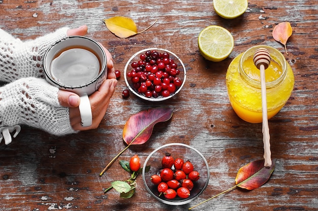 果実や蜂蜜からの救済