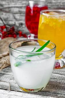 Целебный напиток с алоэ