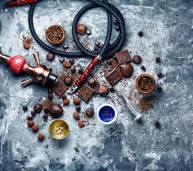 Табачный кальян с шоколадным вкусом