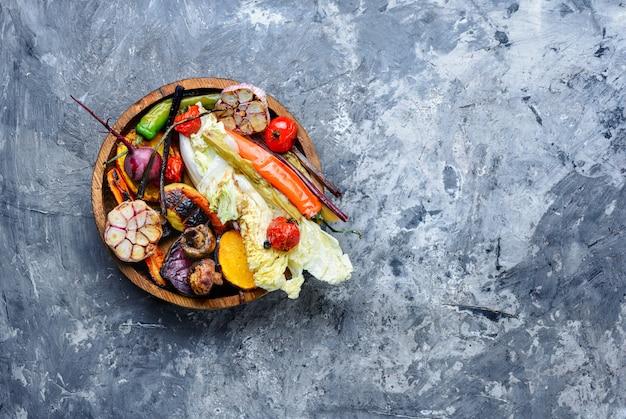 野菜のグリルプレート