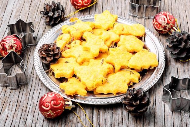Символическое рождественское печенье