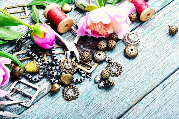 デザインと宝石類