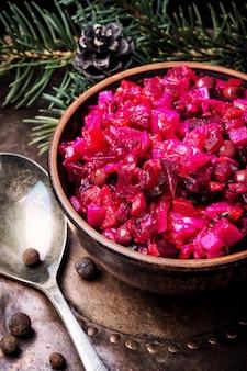 人気の野菜サラダビネグレット