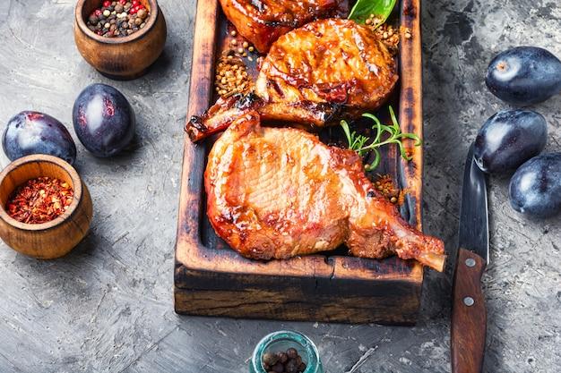 豚カルビ焼き