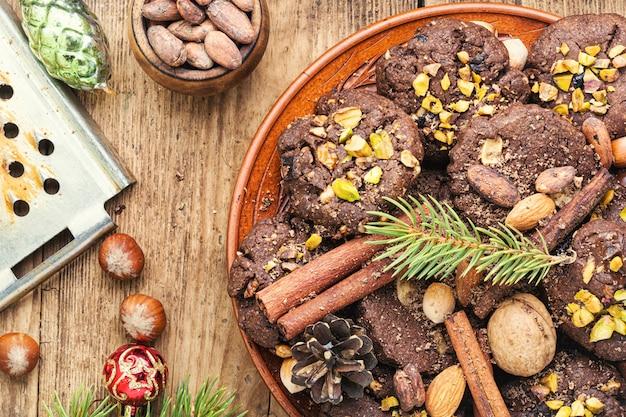 Испеченное рождественское печенье