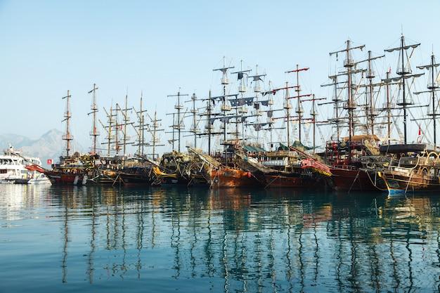 遠足喜び海賊船でマリーナ