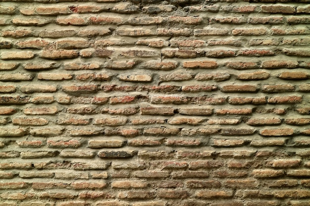 背景やバナーの古いレンガの壁