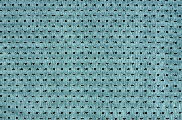 ポリエステル繊維製のスポーツウェアの質感。