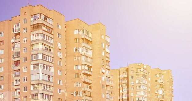 ロシアの古い高層ビル