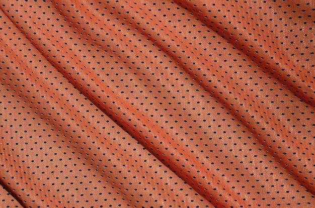 Текстура спортивной одежды из полиэфирного волокна