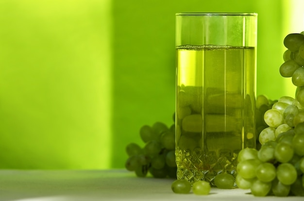 グリーングレープジュース