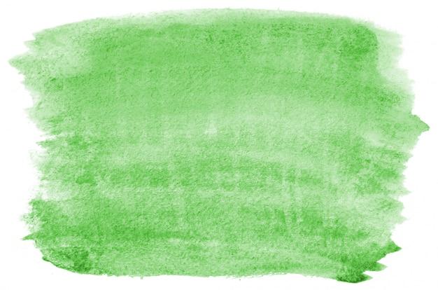 手描きのライトグリーンの水彩画
