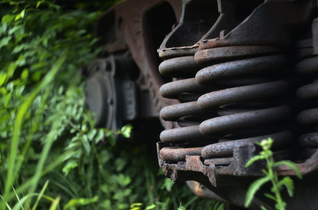 Детали грузового вагона