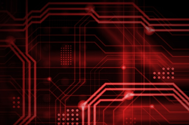 多数の光誘導線からなる抽象的な技術的背景