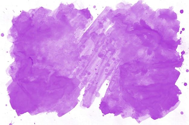 紫色の混合ウェットスポットの抽象的な水彩画の背景画像