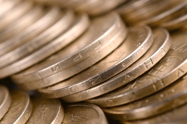 豊かな生活の概念のための経済的な成功ウクライナのお金
