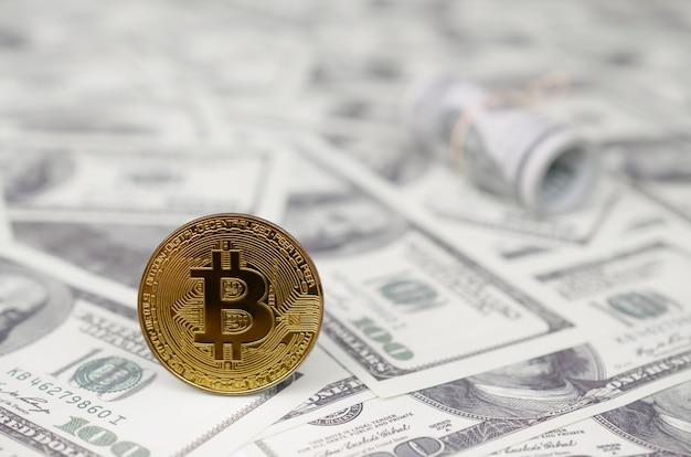 暗号通貨へのお金の合理的かつ適切な投資の概念。暗号市場の収益