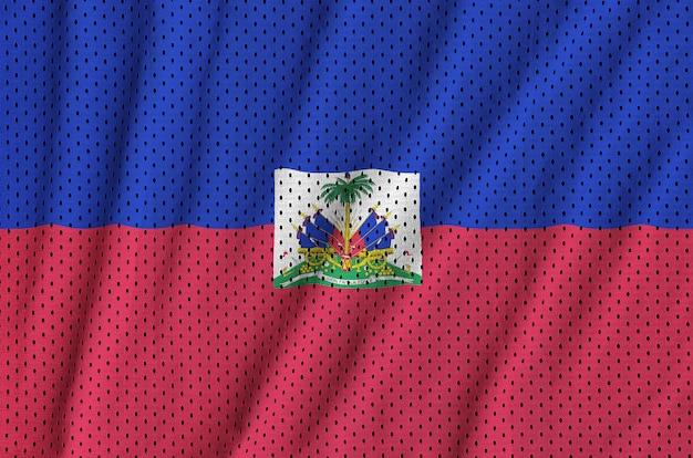 Флаг гаити с принтом на сетке из полиэстера и нейлона