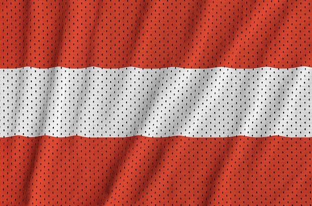 ポリエステルナイロンメッシュに印刷されたオーストリア国旗