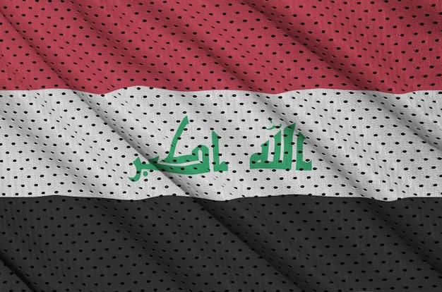 ポリエステルナイロンメッシュに印刷されたイラクの旗
