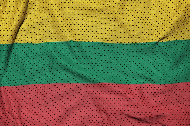 ポリエステルナイロンメッシュに印刷されたリトアニアの旗