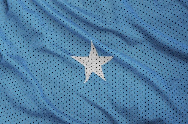 ポリエステルナイロンスポーツウェアメッシュ生地にソマリアの旗を印刷