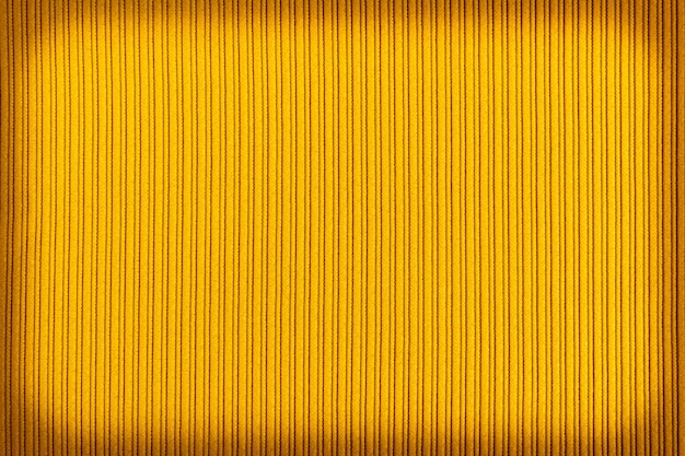 Декоративный желтый цвет, полосатая текстура виньетирования градиента.