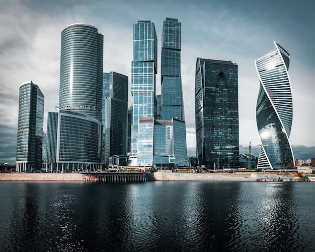 Город москва. московский международный бизнес центр, россия.