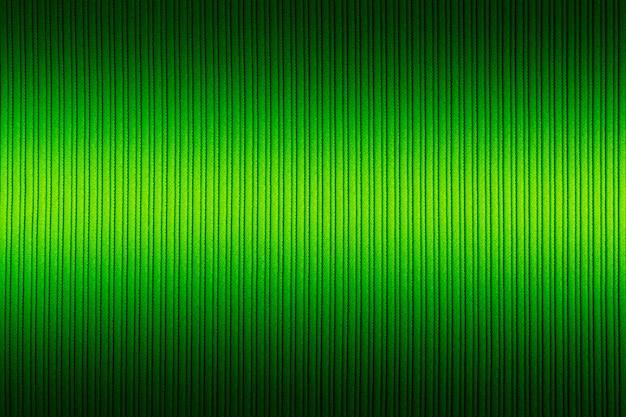 Декоративный фон зеленого цвета, полосатая текстура, верхний и нижний градиент.