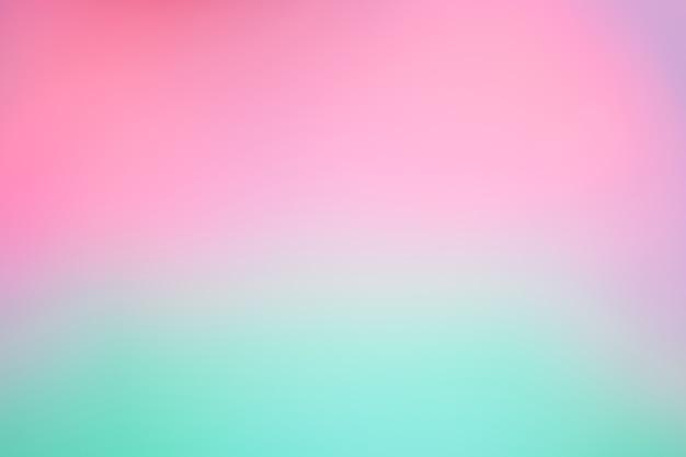 抽象的なぼやけライトグラデーション紫と緑の柔らかいパステルカラーの壁紙の背景。